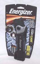 Energizer Hard Case Professional Swivel Head Flashlight 2AA Batteries Light NEW