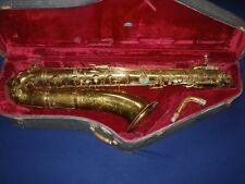 VINTAGE HOLTON RUDY WIEDOEFT BARITONE BARI SAXOPHONE - SOLID, FOR RESTORATION