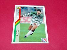 WILLIAM RAMALLO BOLIVIA FIFA WC FOOTBALL CARD UPPER USA 94 PANINI 1994 WM94