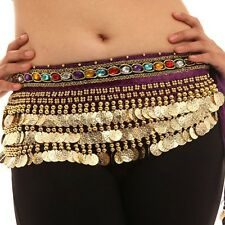 Beautiful Danse Du Ventre Belly Dance dancing Waist Chain Hip Scarf Costume