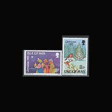 Isle of Man, Sc #221-22, MNH, 1982, Christmas, Three Kings, WYSIWYG, 4TI