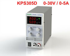 Mini Adjustable Switch DC Power Supply KPS305D Output 0-30V 0-5A AC110-220V