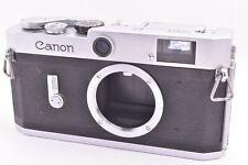 Canon P Rangefinder Film Camera Body  leica screw mount #748439