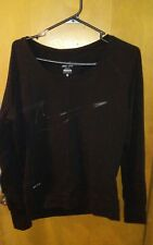 Nike Girls Long Sleeve Top, Dri-Fit, Black,Size XS, Good Cond.