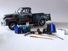 Danbury Mint 1953 Chevy Bass Fisherman's Pickup 1:24 Scale Die Cast Model Truck