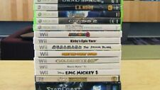 Nintendo Wii games lot- Rare- Free Shipping!