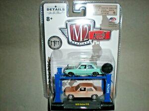 1/64th M2 Machines Auto Lift  2018 SEMA Edition 1970 Datsun 510 Set