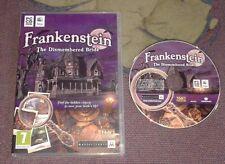 Frankenstein: la sposa smembrati Nascosto objectadventure GIOCO PER PC + MAC