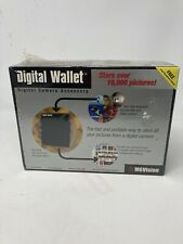 Vintage 1998 Mgvision Digital Photo Wallet Camera Accessory Stores 10,000 Photos