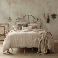 Wamsutta Vintage Washed Linen Full/Queen Duvet Cover in Linen