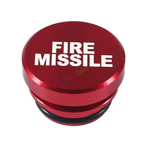 HOT 12V Universal Car Cigarette Lighter Button Cover Accessories Fire Missile UK