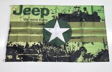 Jeep Sty1 Banner Flag Car 4x4 Grand Cherokee Wrangler Mechanic Workshop Man Cave