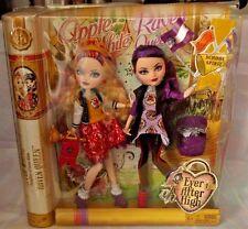 New Ever After High Dolls SCHOOL SPIRIT APPLE WHITE & RAVEN QUEEN 6+ Mattel