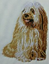 Tibetan Terrier Dog Breed Bathroom Set Of 2 Hand Towels Embroidered