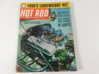 Vintage  Original July 1963 Hot Rod Magazine Automotive Custom Car Mods