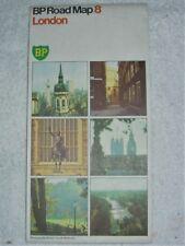 Vintage 1977 BP Road Map 8 - LONDON