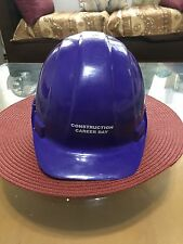 Adult Sized Purple Career Day Construction Worker Helmet/Cap/Hat by Americana
