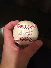 2013 WS CHAMP JON LESTER SIGNED SWEET SPOT POST SEASON BASEBALL- MLB HOLO-JSA