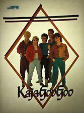 Kajagoogoo 80s Memorabilia Vintage retro tshirt transfer print,NOS