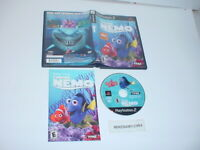 Disney's FINDING NEMO game complete in case w/ Manual - Playstation 2 PS2