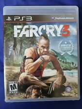 Far Cry 3 Sony PlayStation 3, 2012 (PS3) Complete In Box (CIB)