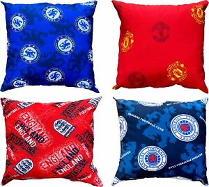 FOOTBALL FILLED PRINTED CUSHIONS  20 INCHES