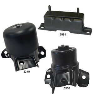 Engine & Trans Mounts 23195922, 23195921, 84123837 Fits Chevrolet Colorado 4WD