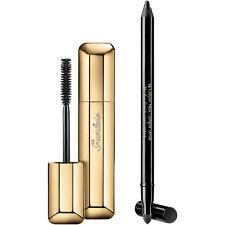 Guerlain Intense Look Set Maxi Lash Mascara & Long Lasting Eye Pencil Kit NEW