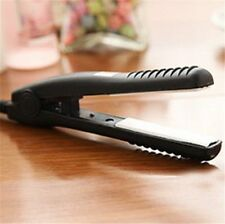 Mini Hair Straightener/Flat Iron Curler Professional Ceramic Tourmaline Plates