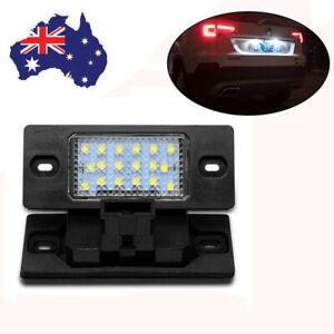 Vehicle Rear Led License Number Plate Lights Lamps For Porsche Cayenne Tiguan