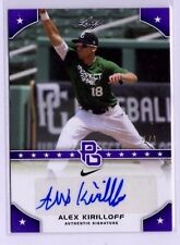 2015 Leaf Perfect Game PURPLE AUTO Alex Kirilloff REAL #1/1 1st rd pick MN Twins
