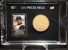 2020 THE BAR POTP SPORTS MONTHLY ROBERTO CLEMENTE / 1950'S MODEL BAT RELIC 1/1