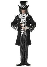 ADULT DARK MAD HATTER COSTUME SIZE MEDIUM (with defect)