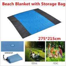Waterproof Beach Mat Outdoor Portable Picnic Blanket Rug Sandless Pad 275*215cm
