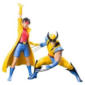 Marvel X-Men '92 2-Pack Wolverine & Jubilé Artfx+ Statue 1/10 By KOTOBUKIYA