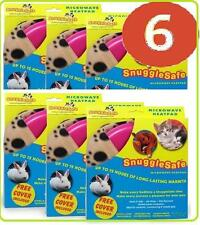Snugglesafe Microwave Heat Pad For Pets - SUPER SAVER # 6 # PACK + Free Post!