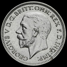 More details for 1931 george v silver sixpence, a/unc