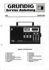 Service Manual for Grundig Satellite 300