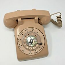 Vintage Rotary Phone Tan Color