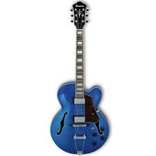 Ibanez AF75FM Artcore Hollow Body Electric Guitar -  Transparent Blue , New!