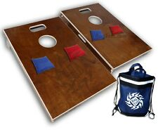 Tailgate Size Cornhole Boards - Bag Toss 2 with 5pt slot Includes 8 Bags - Baggo