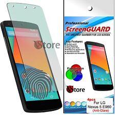 4 Film Opaque pour LG Nexus 5 D820 Protecteur D'écran Antireflet Empreinte