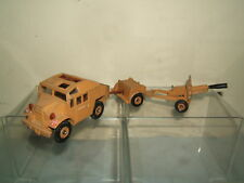"CORGI TOYS MODEL No.909 ""QUAD TRACTOR"" , GUN & LIMBER TRAILER SET"