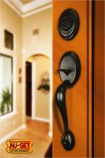 Front Door Dummy Entry Handleset Oil Rubbed Bronze