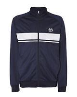 Sergio Tacchini Image Sweater Mens Track Top Hoodie Navy 37665 213 X6B