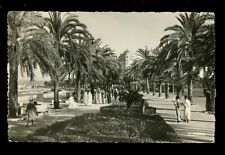 Morocco TANGIER L'Avenue d'Espagne 1957 RP PPC