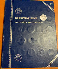 ROOSEVELT DIME COLLECTION IN WHITMAN ALBUM #9029 38 SILVER/22 CLAD