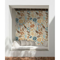 Bohemian Flowers removable wallpaper Floral wall mural Watercolor decor