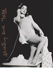 Shirley Anne Field Signed 8x10 Photo - STAR OF THE ENTERTAINER (1960) -RARE G204
