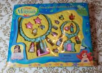 1997 Disney's Little Mermaid Deluxe Simply Charming Jewelry Set Collectible NIB